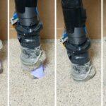 Slender robotic finger senses buried items